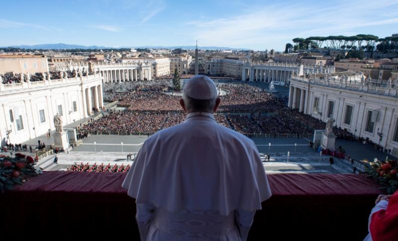 En su mensaje navideño el papa Francisco recordó que todos somos hermanos y las diferencias son una riqueza, no un peligro