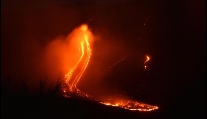 Alerta en Italia por la erupción del volcán Etna