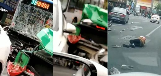 Un hombresecuestró un colectivo para luego atropellar a transeúntes en China, dejando como saldo 5 muertos y más de 20 heridos