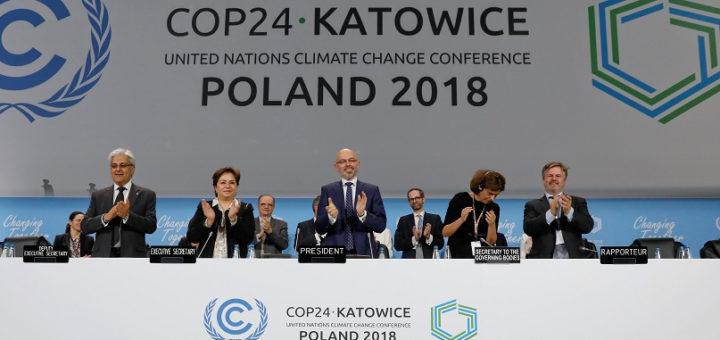#COP24: Cumbre del clima selló las reglas para aplicar el Acuerdo de París contra el Cambio Climático