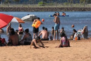 Las playas de Posadas, los lugares elegidos para disfrutar el domingo