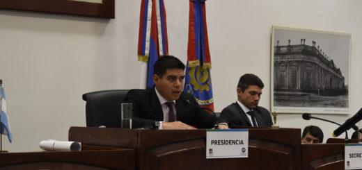 Por unanimidad Fernando Meza fue electo nuevamente como presidente del Concejo Deliberante de Posadas