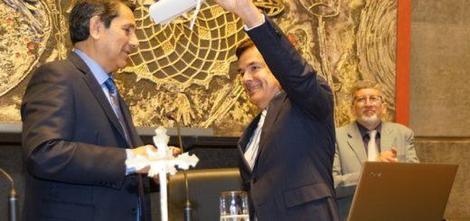 Rovira fue reelecto como presidente de la Legislatura por amplia mayoría