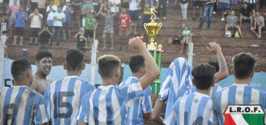 Liga Obereña: Racing es el campeón del Clausura 2018