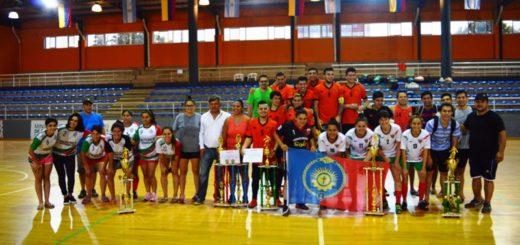 Más de 500 jóvenes participaron de la Gran final de la Liga Provincial Juvenil