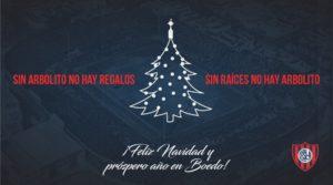 Así saludaron a sus hinchas por la Navidad algunos clubes del fútbol argentino