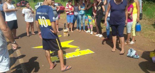 Homenaje a las víctimas de accidentes de tránsito en Eldorado