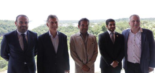 Passalacqua y Macri firmaron convenios e inauguraron el Hotel Meliá Iguazú