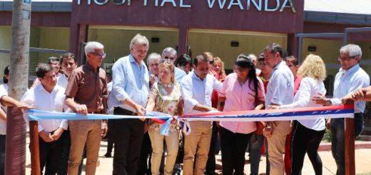 Un sueño cumplido, se inauguró el Hospital de Wanda