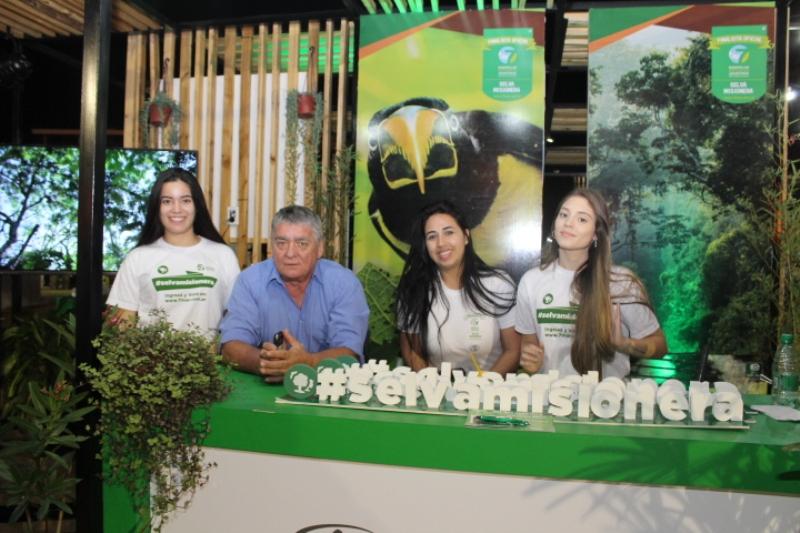 #VotaSelvaMisionera tiene su stand en la Feria de Turismo y Cocina Misionera