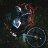Choque entre una camioneta y una moto dejó una mujer herida en San Vicente