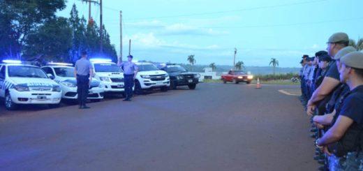 Operativo Integral de Seguridad en la Zona Centro: detienen a cinco personas y retienen 7 motocicletas