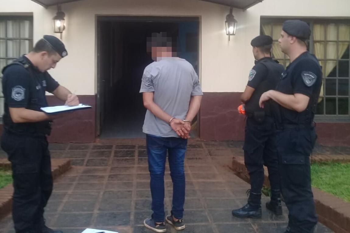 Detienen en Oberá a «Pichaí», acusado de agredir a su pareja y robar un teléfono celular
