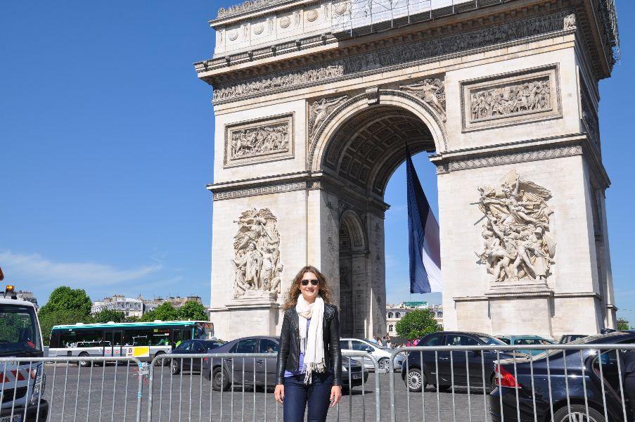 Visitando París en Navidad