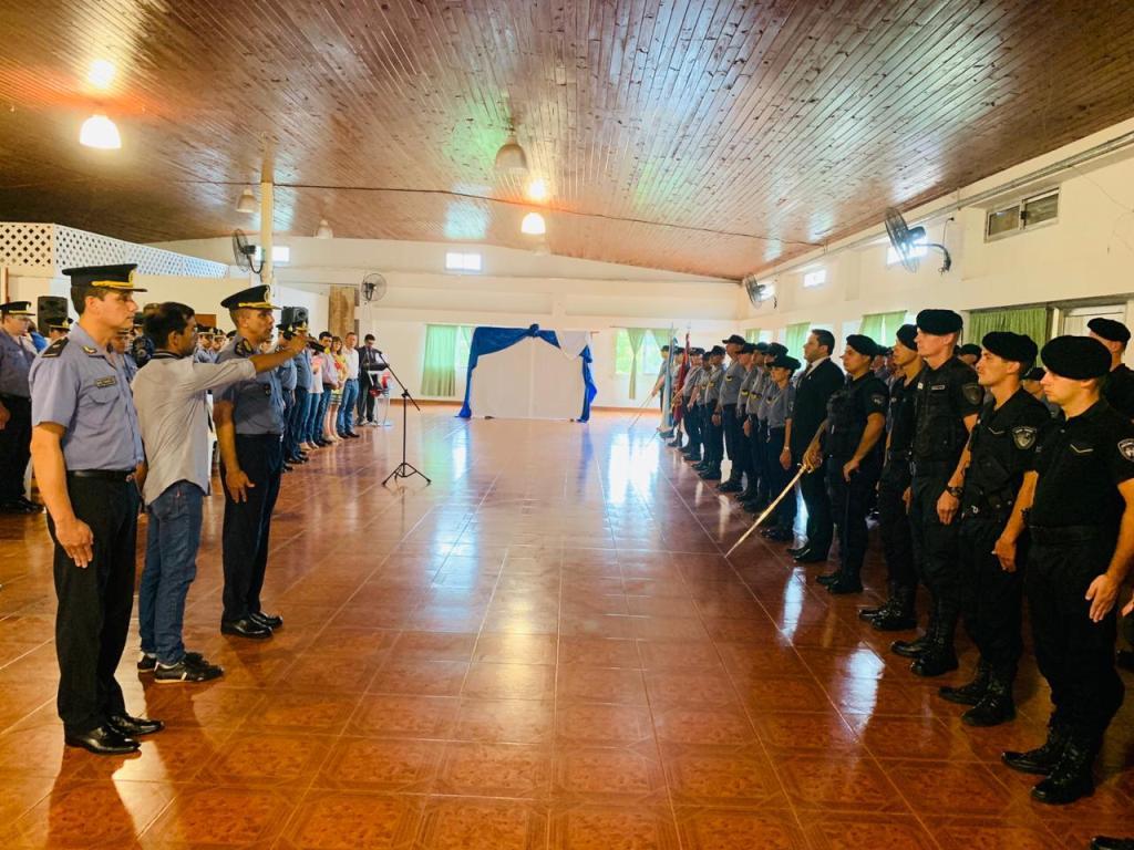 Asumieron jefes de las unidades regionales de Jardín América, San Vicente, Aristóbulo del Valle y Apóstoles