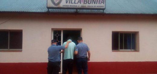 La Policía detuvo a un hombre acusado de agredir y amenazar de muerte a sus padres en Villa Bonita