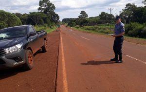 Concepción de la Sierra: un motociclista falleció en la ruta 2