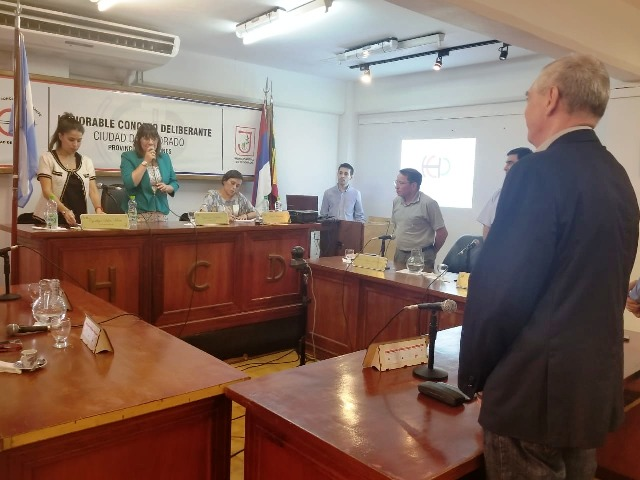 Cambio de Autoridades en el Concejo Deliberante de Eldorado