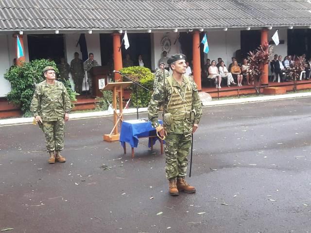 El Coronel Aldo Daniel Ferrari asumió como nuevo jefe de la Brigada de Monte XII del Ejército Argentino
