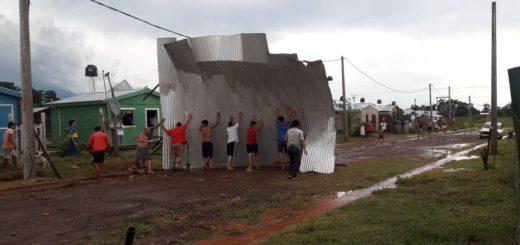El Intendente de Garupá confirmó que tras el fuerte temporal aún continúan sin luz en gran parte del municipio