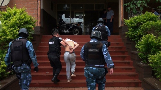 """Posadas: la Policía capturó a """"Laity"""": está involucrado en 17 causas delictivas denunciadas en A 3-2 y alrededores"""