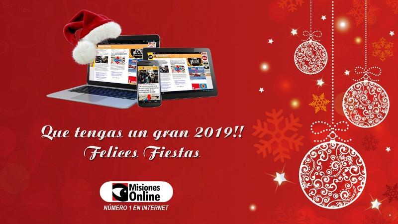 Misiones Online les desea #FelizNavidad