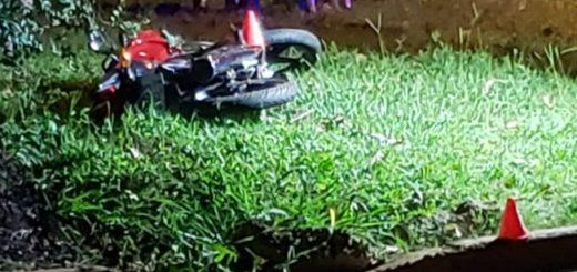 Nochebuena trágica en Posadas: un motociclista murió tras ser arrollado por una camioneta