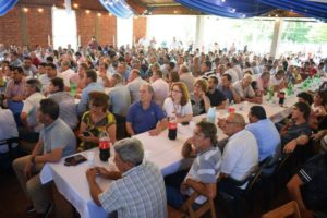 Más de 300 dirigentes renovadores se reunieron para despedir el año