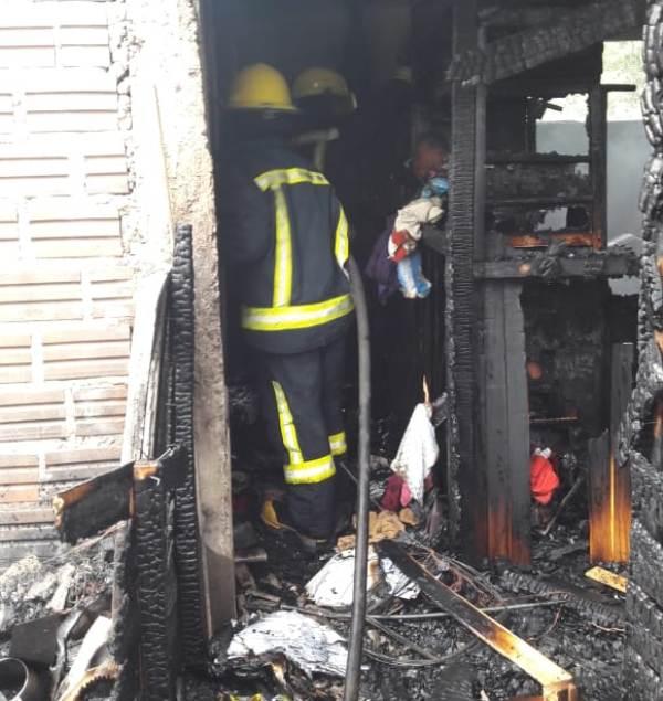 Iguazú: se incendió una vivienda en el Barrio 60 Viviendas
