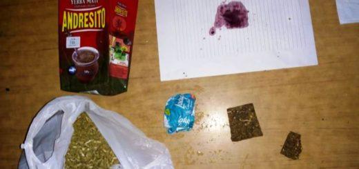 Detectaron marihuana oculta en un paquete yerba que trajeron para un detenido alojado en la comisaría 11º de Posadas