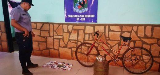 En un allanamiento la Policía recuperó elementos robados en San Ignacio