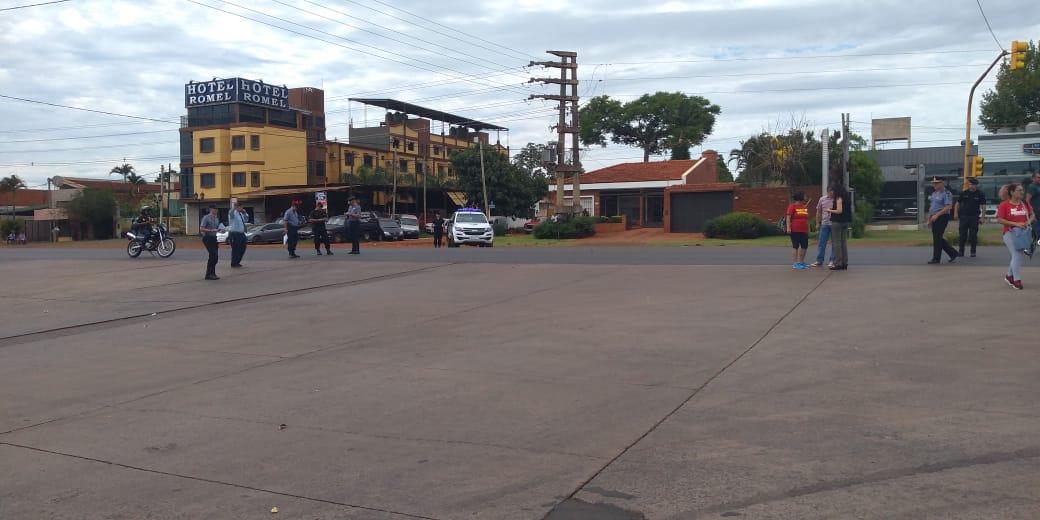 Se levantó el corte de tránsito sobre la avenida Quaranta y vuelve a funcionar la Estación de Transferencia