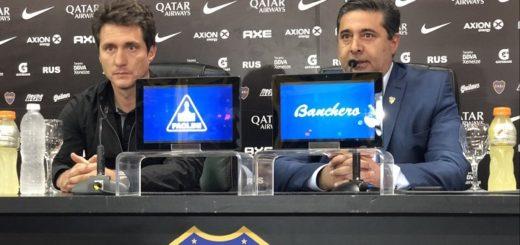 """""""Ganar la Copa era el único objetivo que teníamos"""", dijo Angelici en la despedida de Guillermo como DT de Boca"""