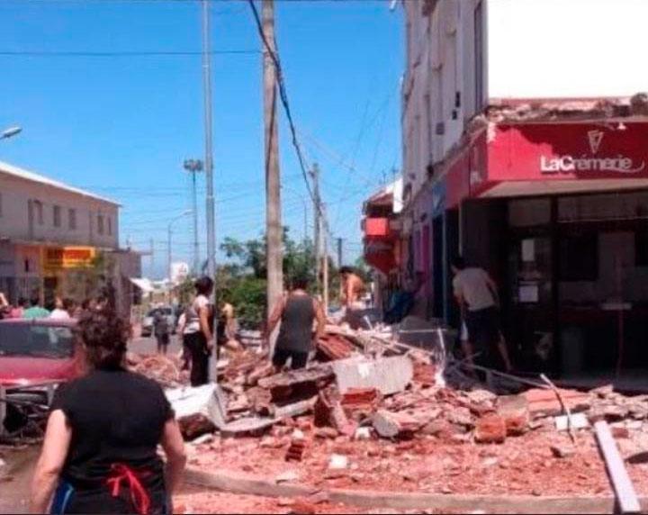 Por el derrumbe de los balcones en un edificio de Mar del Plata, murieron una madre y su hija