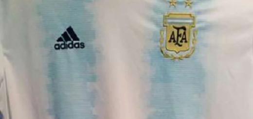 Se conoció la camiseta que la Selección Argentina usaría en la Copa América 2019