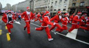 Maratones navideñas: las curiosas carreras de fin de año alrededor del mundo