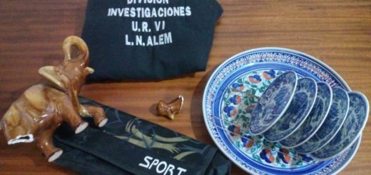 Alem: tres jóvenes presos por robar e incendiar una casa