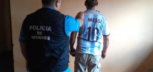 Detuvieron a un hombre por violencia familiar en el barrio San Isidro de Posadas