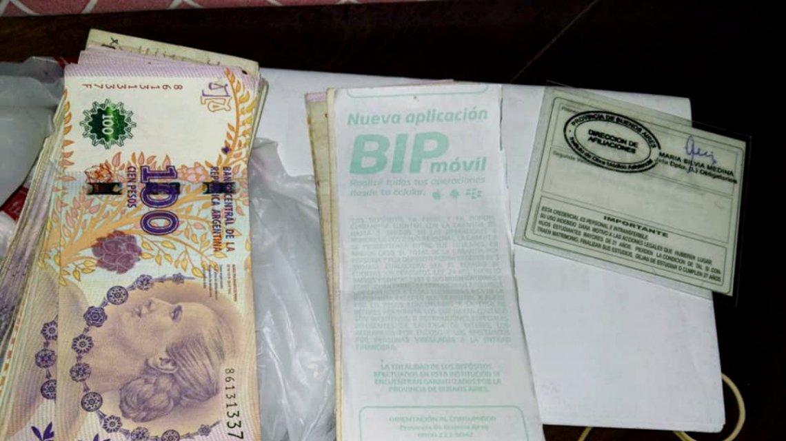 Encontró 23 mil pesos que estaban destinados para la operación de un menor y los devolvió