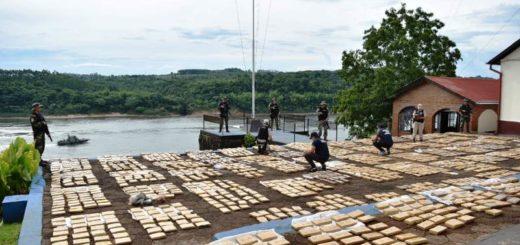 Prefectura secuestró casi dos toneladas de droga en Gobernador Roca