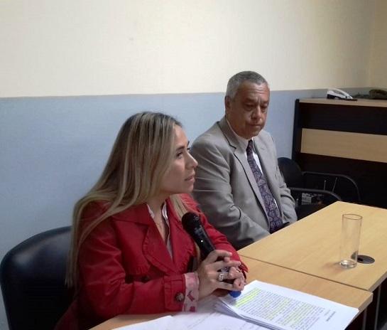 """""""Rocío Santa Cruz se escondió en el avión como lo hizo durante todo el juicio"""", dijo la Fiscal María Laura Álvarez"""