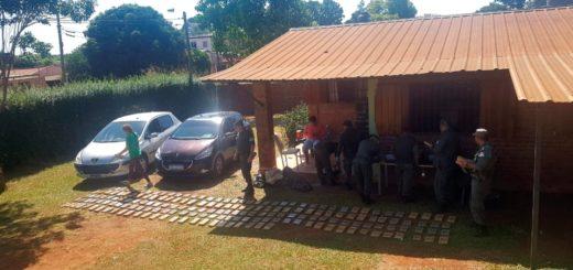La carga de droga decomisada en el barrio Piedrabuena de Posadas llegó a los 519 kilos