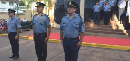 El comisario inspector Da Luz en el nuevo jefe de la UR-V de Puerto Iguazú