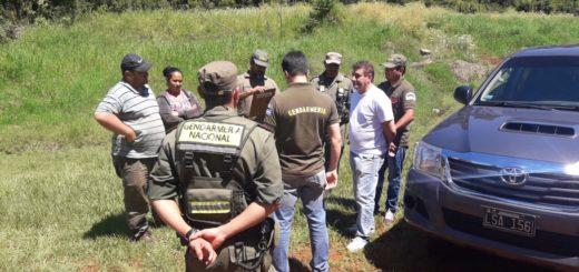 La foto del momento de la detención del abogado de Eldorado en procedimiento anti narco