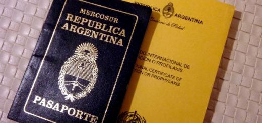 Se aprobó una nueva reglamentación que exige presentar el carnet de vacunación para la tramitación del DNI y Pasaportes