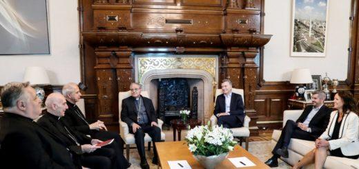 Macri recibió a los miembros de la Conferencia Episcopal Argentina