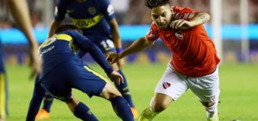 Superliga: Independiente y Boca ya juegan en Avellaneda