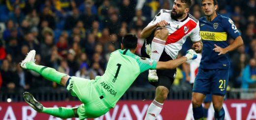 #SuperFinalLibertadores: Pratto le da el empate a River y por ahora hay alargue en Madrid