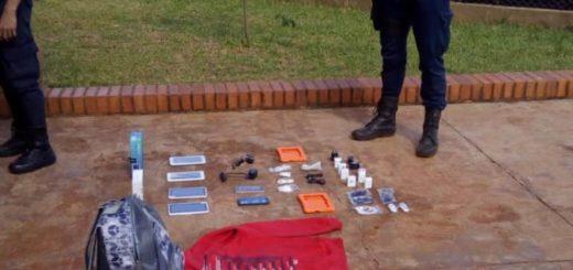 Campo Grande: atrapan a trío que robó 18 mil pesos y 34 celulares de un local comercial