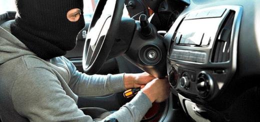 Quiso robar un auto pero quedó atrapado: tuvo que llamar a la policía para que lo rescaten